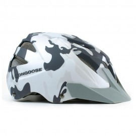 Mongoose Casco Black Rock Negro Blanco