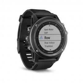 Reloj Deportivo Fenix 3 Garmin HR Sapphire Negro - Envío Gratuito