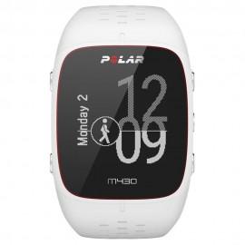 Reloj GPS Actividad y Frecuencia Cardiaca Polar M430 Blanco
