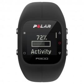 Reloj Fitness Actividad y Frecuencia Cardaica Polar A300 HR Negro