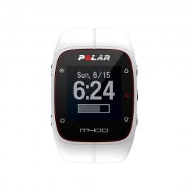 Monitor de Ritmo Cardiaco Polar M400 Blanco