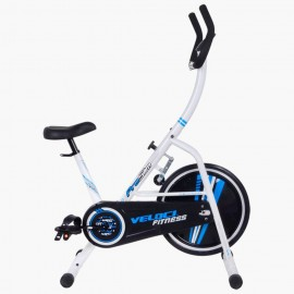 Veloci Bicicleta para Spinning Pro Slim con Monitor Digital