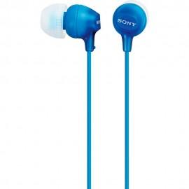 Audífonos Internos Sony Azul MDR EX15LP L - Envío Gratuito