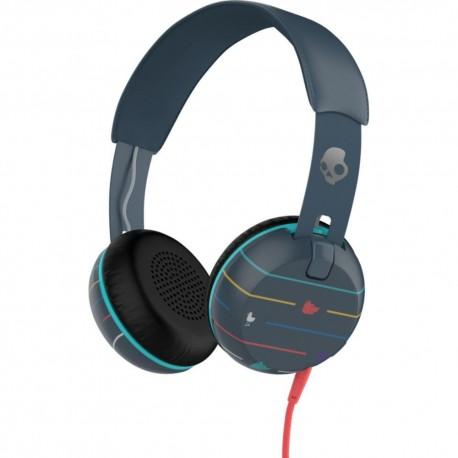Skullcandy Headphone Grind Azul - Envío Gratuito