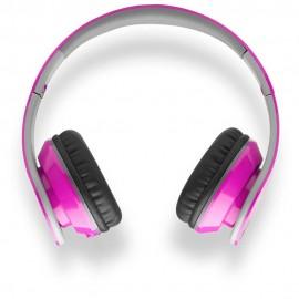 Hype Audífonos Bluetooth Plegables Rosa - Envío Gratuito