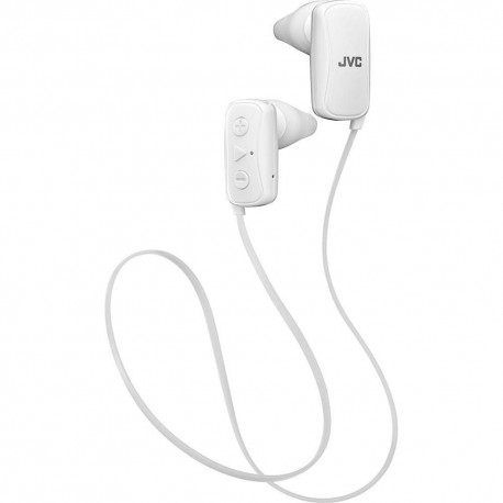 Audífono Bluetooth JVC Blanco HAF250BTW - Envío Gratuito
