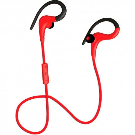 Audífono Bluetooth Coby Rojo CEBT 400 RED - Envío Gratuito