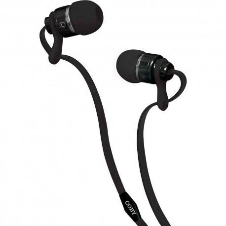 Audífonos Internos Deluxe Coby Negro CVPE 03 BLK - Envío Gratuito
