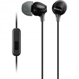 Audífono Interno Sony Negro MDR EX15AP B