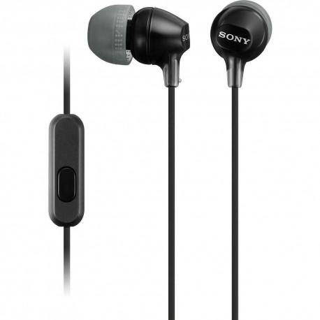 Audífono Interno Sony Negro MDR EX15AP B - Envío Gratuito