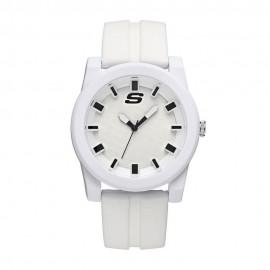 Reloj Skechers SR5066 Unisex   Blanco - Envío Gratuito