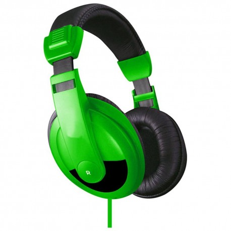 Audífonos VIBE Dj De Sonido Verde - Envío Gratuito