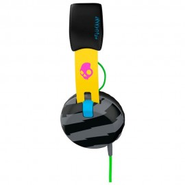 Skullcandy Headphone SCS5GRHT 466 Negro Amarillo