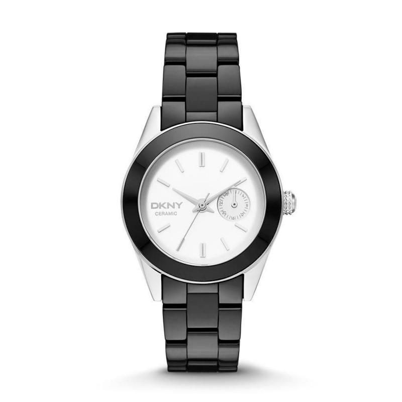 899c83b5dc4c Reloj DKNY 2143 para Dama Negro Plateado - Envío Gratuito