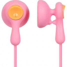Audífonos Ear Drops Earbuds Panasonic Rosa RP HV41P