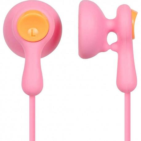 Audífonos Ear Drops Earbuds Panasonic Rosa RP HV41P - Envío Gratuito