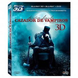 BLURAY 3D Abraham Lincoln Cazador De Vampiros - Envío Gratuito