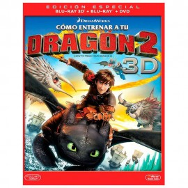 BLURAY 3D COMO ENTRENAR A TU DRAGÓN 2