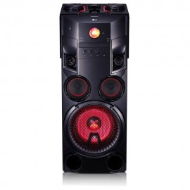 Lg Minicomponente X Boom Plus Inalámbrico OM7560  Negro