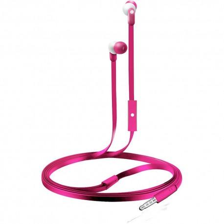 Audífonos Internos Con Micrófono Coby Rosa CVE 110PK - Envío Gratuito