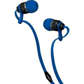 Audífonos Internos Deluxe Coby Azul CVPE 03 BLU