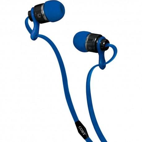 Audífonos Internos Deluxe Coby Azul CVPE 03 BLU - Envío Gratuito