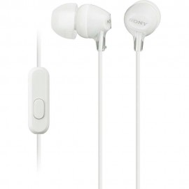 Audífono Interno Sony Blanco MDR EX15AP W