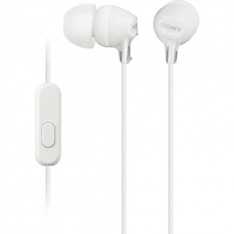 Audífono Interno Sony Blanco MDR EX15AP W - Envío Gratuito