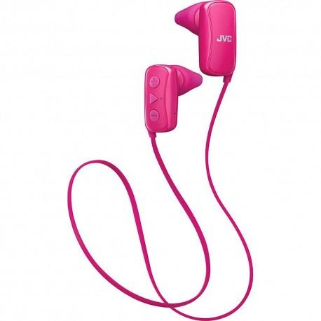 Audífono Bluetooth JVC Rosa HAF250BTP - Envío Gratuito