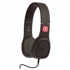 Baja Audífonos Alámbricos Negro OT1450B