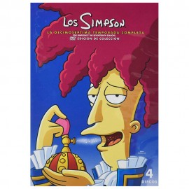 DVD LOS SIMPSON TEMPORADA 17 - Envío Gratuito