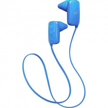 Audífono Bluetooth JVC Azul HAF250BTA - Envío Gratuito