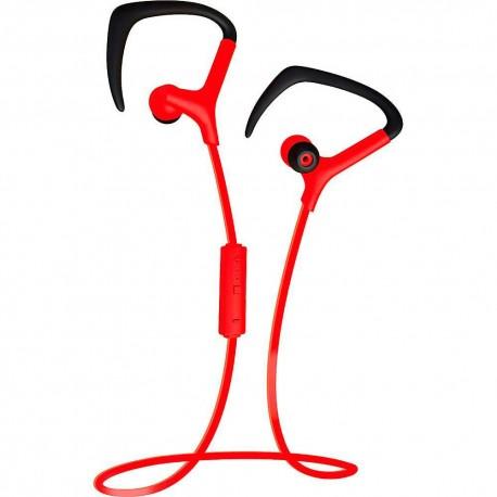 Audífono Bluetooth Coby Rojo CEBT 401 RED - Envío Gratuito