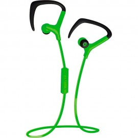 Audífono Bluetooth Coby Verde CEBT 401 GRN
