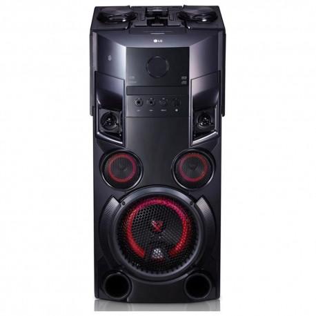 LG Torre de Sonido OM5560  Negra - Envío Gratuito