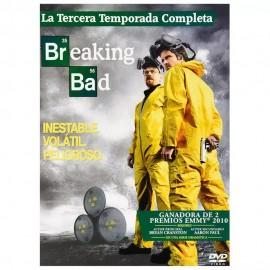 DVD BREAKING BAD TEMPORADA 3 - Envío Gratuito