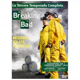 DVD BREAKING BAD TEMPORADA 3