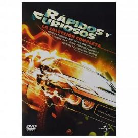 DVD Rápidos Y Furiosos (Pentalogia) - Envío Gratuito