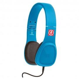 Baja Audífonos Alámbricos Azul OT1450EB