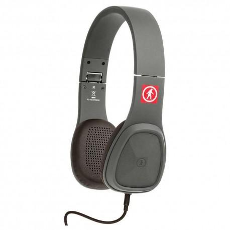 Baja Audífonos Alámbricos Gris OT1450G - Envío Gratuito
