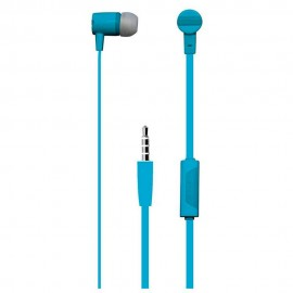 Vibe Audífonos Estéreo Manos Libres VS CAT BLU Azul