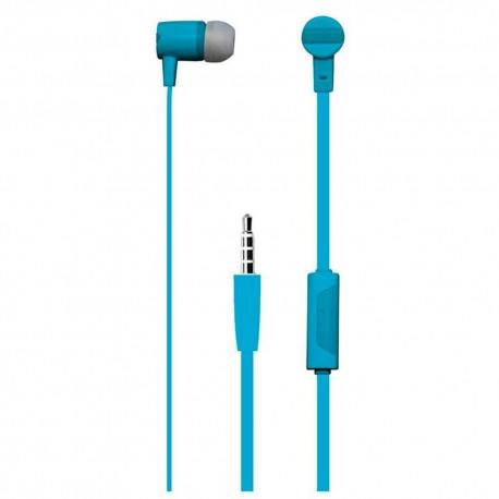 Vibe Audífonos Estéreo Manos Libres VS CAT BLU Azul - Envío Gratuito
