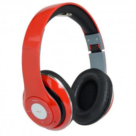 Audífonos de Diadema con Bluetooth Kingsley Rojos - Envío Gratuito