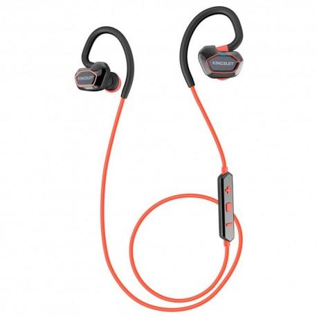 Audífonos Deportivos con Bluetooth Kingsley Rojos - Envío Gratuito