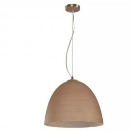 Lámpara de Techo Designer Níquel 60W - Envío Gratuito