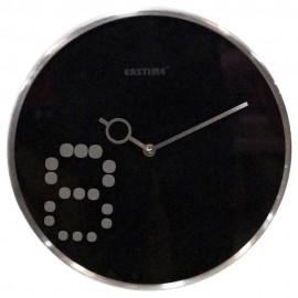 Reloj de Pared Siglo XXI Negro - Envío Gratuito