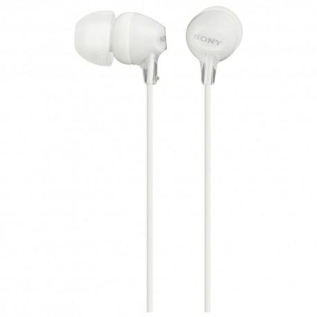 Sony Audífonos MDR EX15LP W Blancos - Envío Gratuito