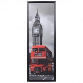 Cuadro Decorativo Bus Rojo - Envío Gratuito