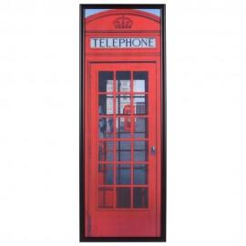 Cuadro Decorativo Caseta Rojo - Envío Gratuito