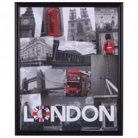 Cuadro Decorativo London Collage - Envío Gratuito